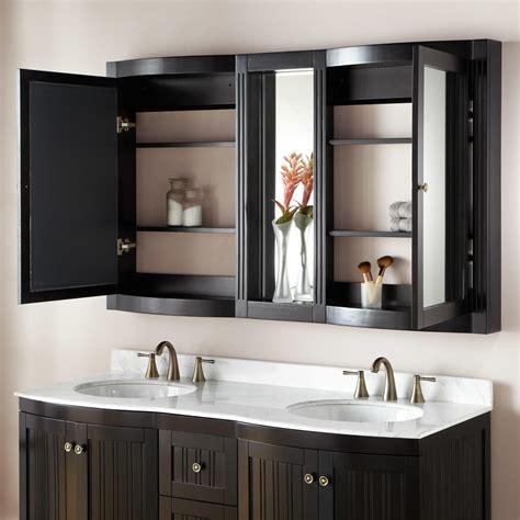 60  Palmetto Espresso Double Vanity   Bathroom
