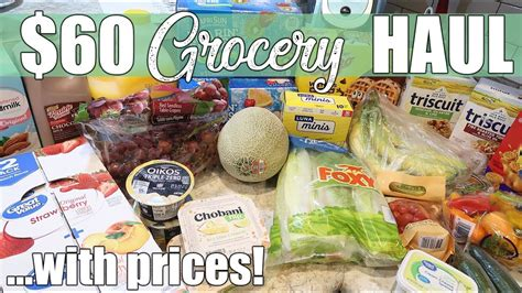 $60 Walmart Grocery Delivery Haul | No Contact Shopping ...