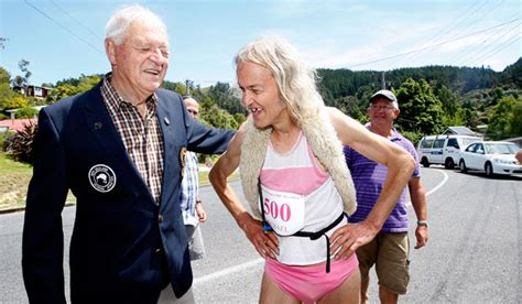 60 year old runner finishes his 500th marathon   Stuff.co.nz
