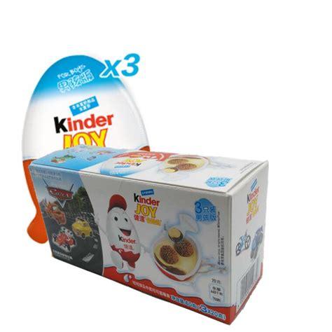 60g Kinder joy eggs Kinder Surprise Chocolate+Toys ...