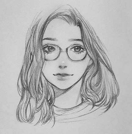 61 Trendy Ideas Drawing Sketches Pencil Ideas Faces # ...