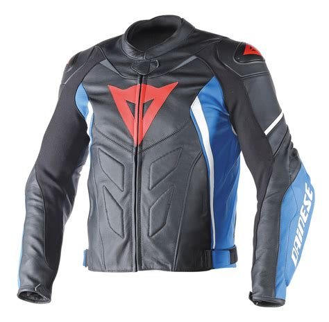$649.95 Dainese Mens Avro D1 Armored Leather Jacket #1074014