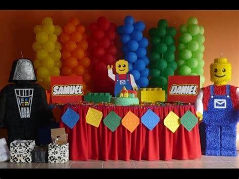 65 DECORACIONES para FIESTA de LEGOS SIMPLEMENTE HERMOSAS ...