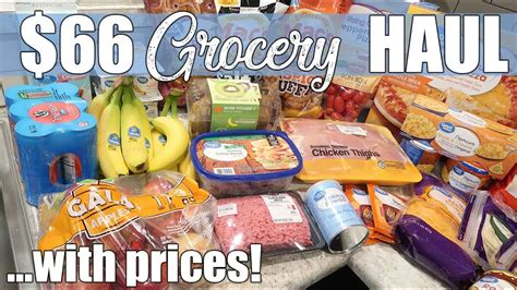 $66 Walmart Grocery Delivery Haul | January 2020   YouTube