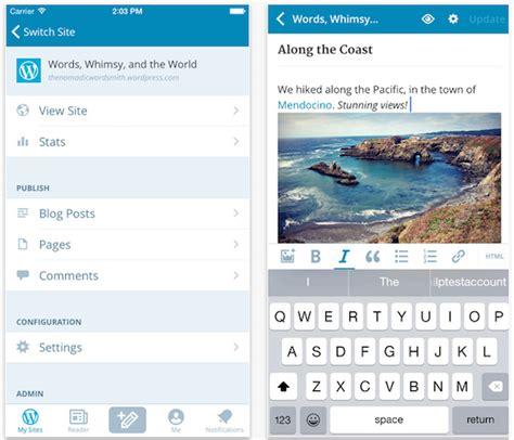 7 Apps de IOS y Android para usuarios de Wordpress