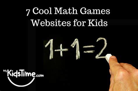 7 Cool Math Games Websites for Kids