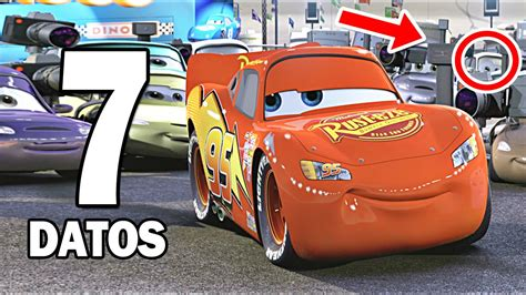7 Curiosidades Sobre Cars  La Película    YouTube