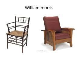 7. Diseño de sillas de Morris, Marshall, Faulkner & Co ...