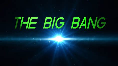 7 facts about: THE BIG BANG   YouTube