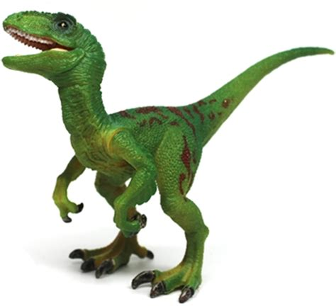 7  Green Raptor / Velociraptor Dinosaur Toy Action Figure ...