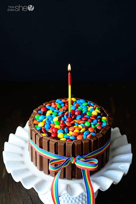 7 tartas de cumpleaños fáciles y originales   PequeRecetas
