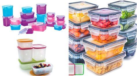 7 Tipos de recipientes para guardar alimentos que si ...