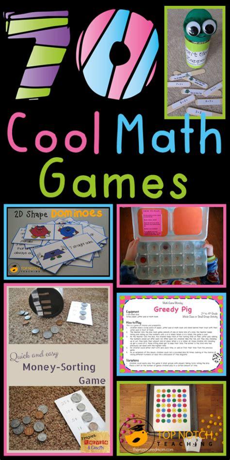70 Cool Math Games | Top Notch Teaching