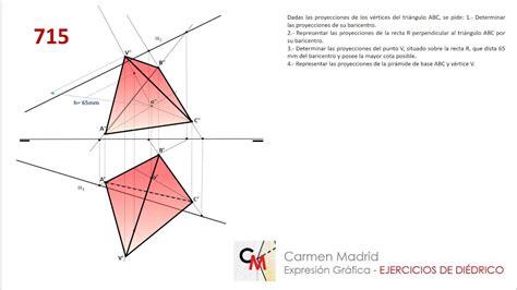 715. Pirámide triangular   YouTube