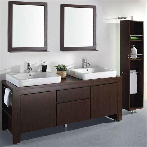 72   doble lavabo moderno espresso muebles de baño   mb ...