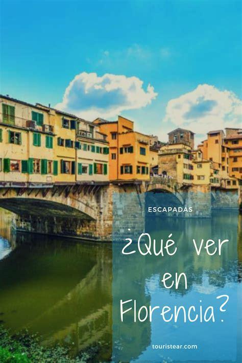 75 Cosas que hacer y ver en Florencia   Viajar a italia ...