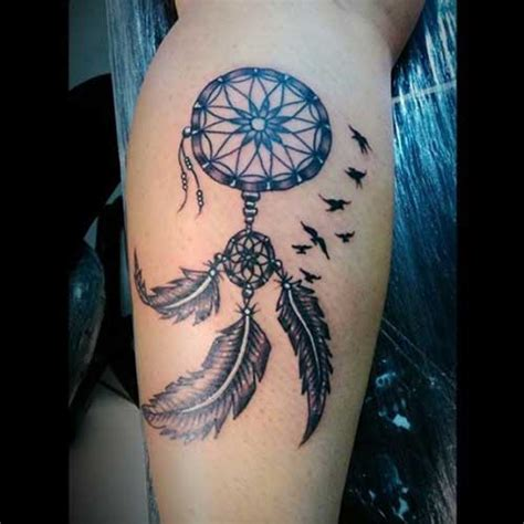 77 Fotos de Tatuagens de Filtro dos Sonhos + Significados!