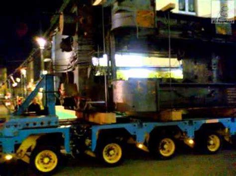 8.11.2011 Remscheid Schwerlast Transport bei Sona.   YouTube