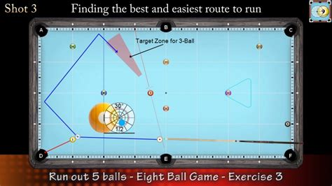 8 Ball Game situation #3   How to Run Out   Pool ...