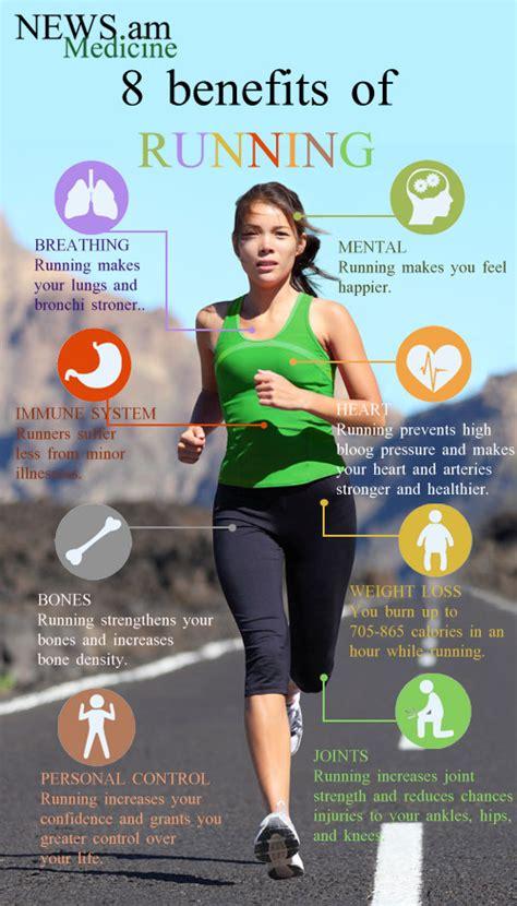 8 benefits of running  infographic  | NEWS.am Medicine ...