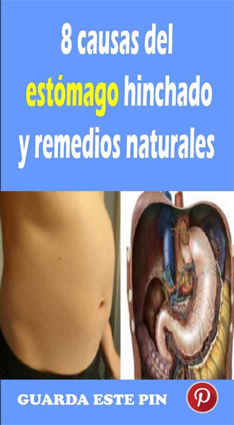 8 causas del estómago hinchado y remedios naturales   TU ...