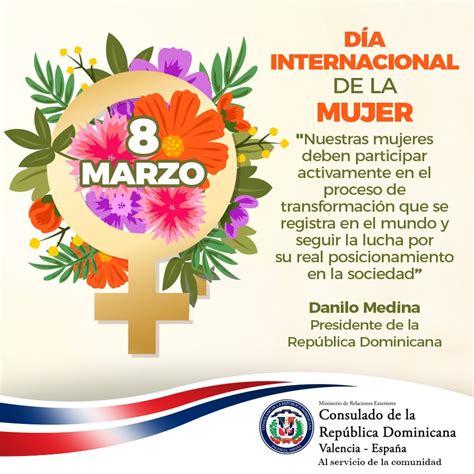8 de Marzo, conmemoramos el Día Internacional de la Mujer ...