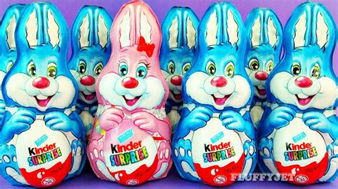 8 Easter Kinder Surprise Bunny Rabbit Army Surprise Toys ...