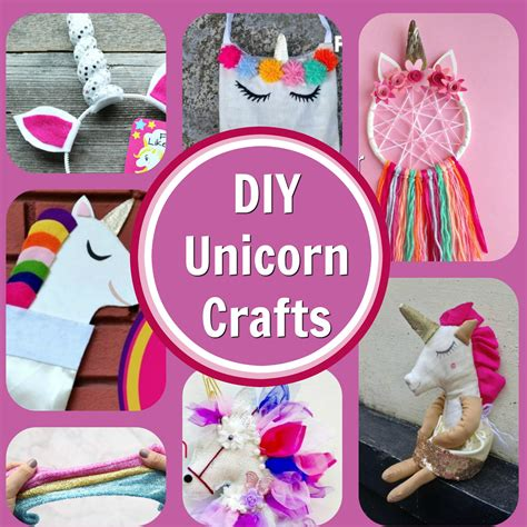 8 Easy and Adoreable Unicorn Craft Project Tutorials   The ...
