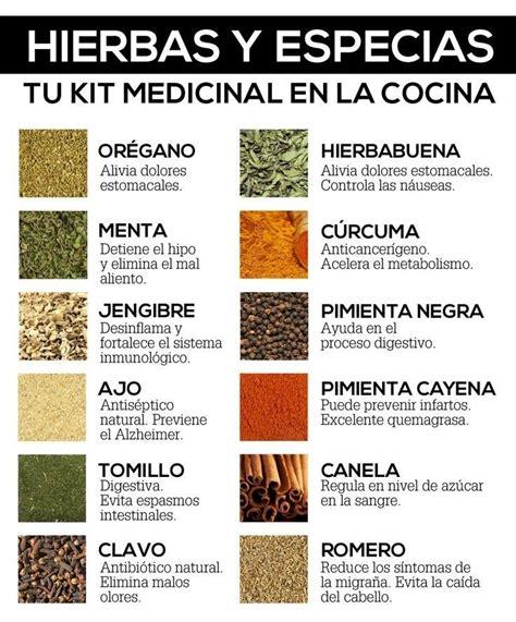 8 Especias medicinales que fortalecen tu salud * Nutrición ...