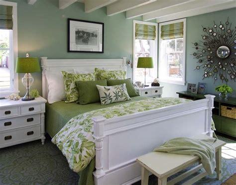 8 Green Bedroom Decorating Ideas for Spring   Frances Hunt