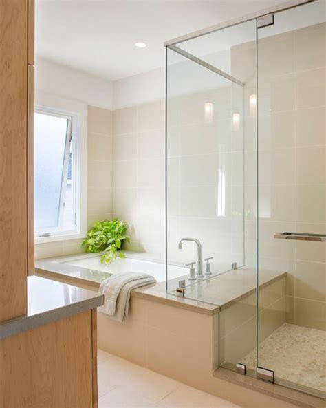 8 opciones para instalar ducha y bañera en un baño pequeño ...