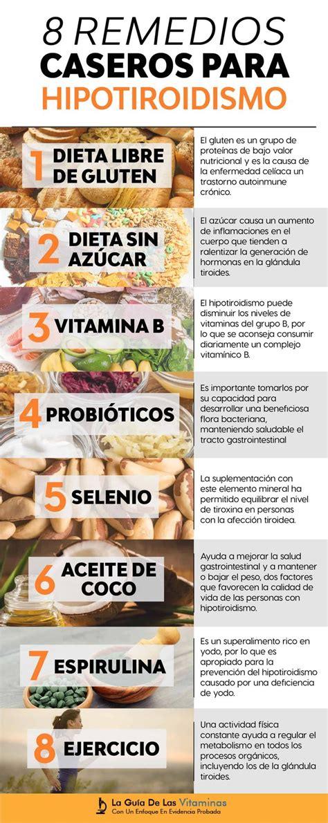 8 Remedios Caseros Para El Hipotiroidismo   [100% ...