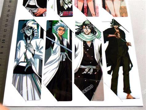 8 Separadores De Libro Manga Pvc Bleach Rukia Ichigo ...