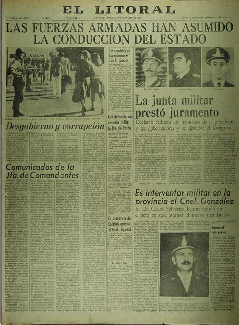 8 tapas de diarios y revistas del 24 de marzo de 1976 ...