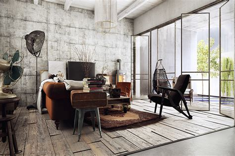 8 Ways To Design A Rustic Industrial Living Room | Décor Aid