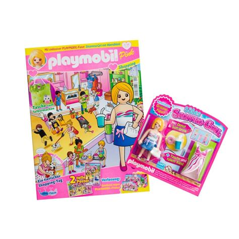 80585 magazine Playmobil girl  Germany Version  with ...