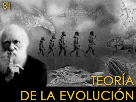 81 teoria de la evolucion