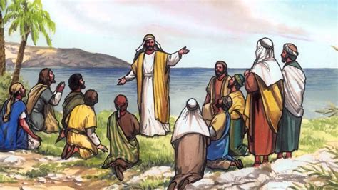 87 La gran comisión de Jesús a sus discípulos   YouTube