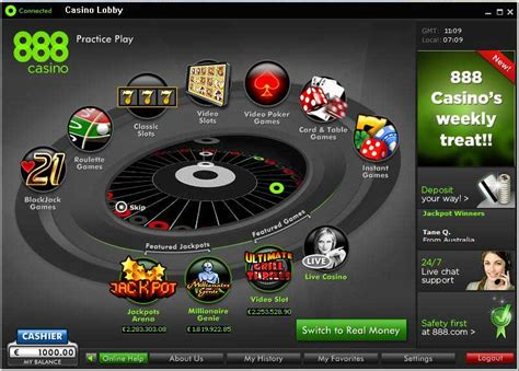 888 Casino Review, Collect a 100% up to $200 Deposit Bonus