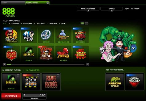 888 Casino Review for 2018   Bonus Of Up To €/£/$140 FREE!