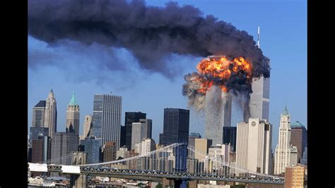 9/11 world trade center attack real footage   YouTube