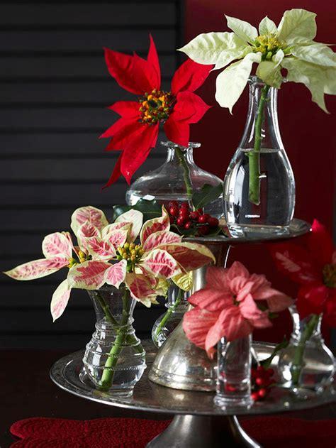 9 ideas de centros navideños con flores naturales