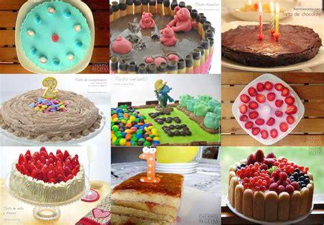9 tartas de cumpleaños para niños   Thermo Recetas