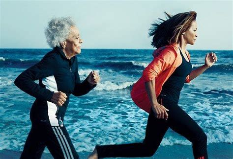 """96 year old runner and her 60 year old daughter """"Age ain't ..."""