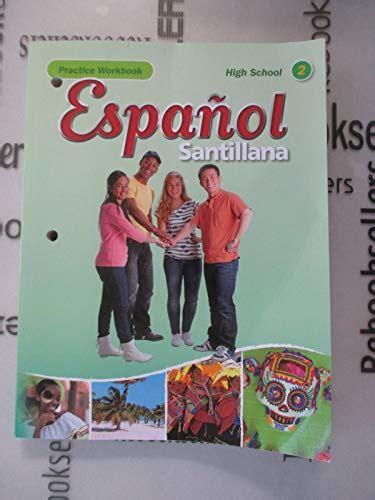 9781616052522: Espanol Santillana Hs Level 2 Practice ...