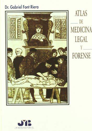 9788476983850: Atlas de medicina legal y forense ...