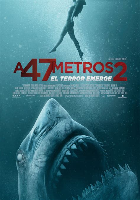 A 47 metros 2: El terror emerge   Película 2018 ...