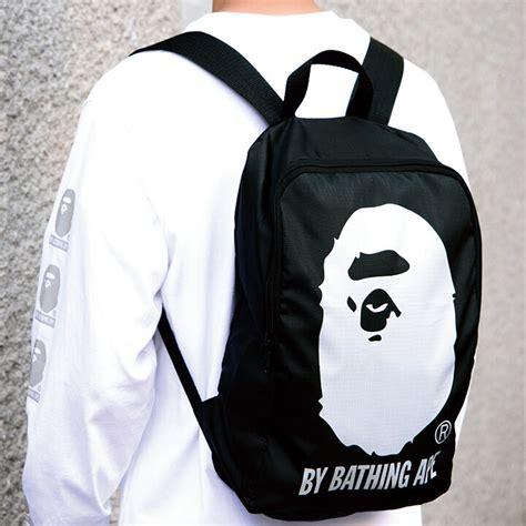 A Bathing Ape Bape Head Backpack Bag From Japan Magazine ...