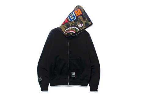 A Bathing Ape SHARK HOODIE 10th Anniversary Collection ...