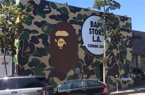 A Bathing Ape to Reopen Store in Los Angeles | Complex